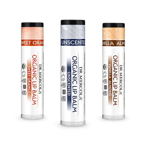 Organic Lip Balm: Create Your Own 3-Pack