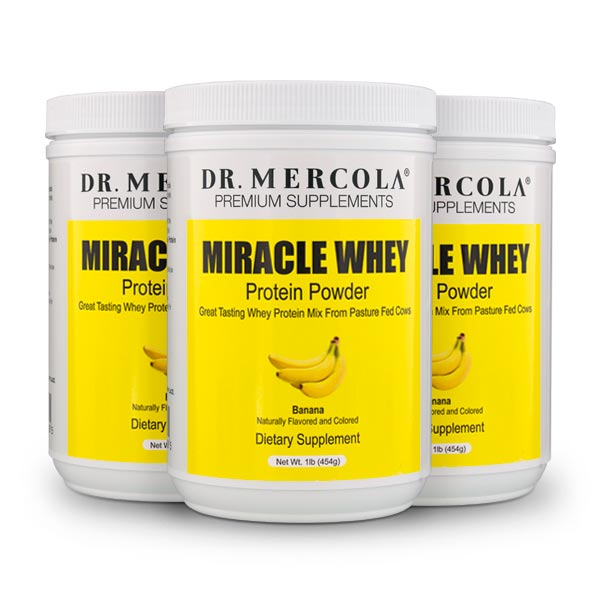 Miracle Whey Protein 3 Pack