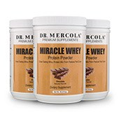 Miracle Whey Chocolate (11 Servings per container): 3 containers