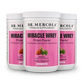 Miracle Whey Strawberry (11 Servings per container): 3 containers