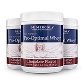 Pro-Optimal Whey Chocolate (18 Servings per container): Value 3-Pack