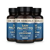 Saw Palmetto with Lycopene (30 per bottle): 90 Day Supply