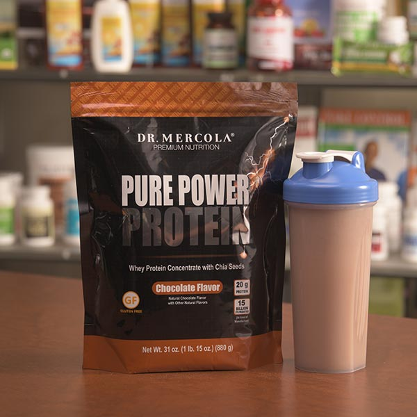 Pure Power Protein - Chocolate (22 Servings): 3-Pack