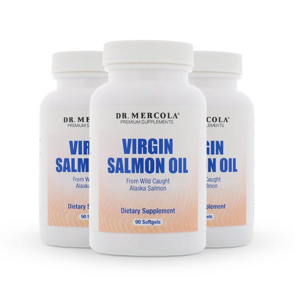 Salmon Oil Softgels 3 pack Deal