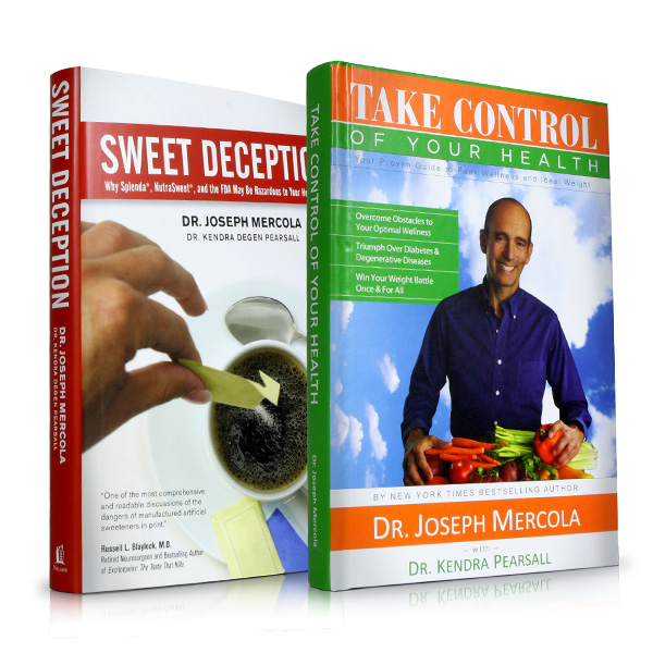 Sweet Deception & Take Control of Your Health by Dr. Mercola: 2 books