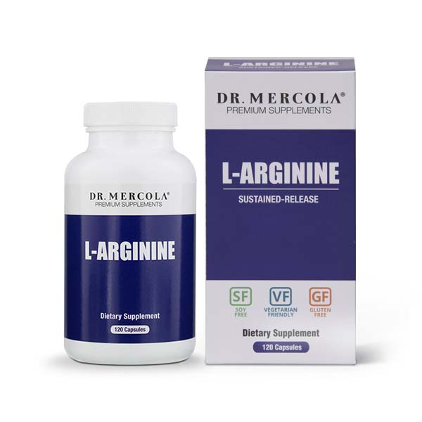 L-Arginine capsules (120 per bottle): 30 Day Supply