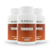 Turmeric (45 Servings per Bottle): 3 Bottles