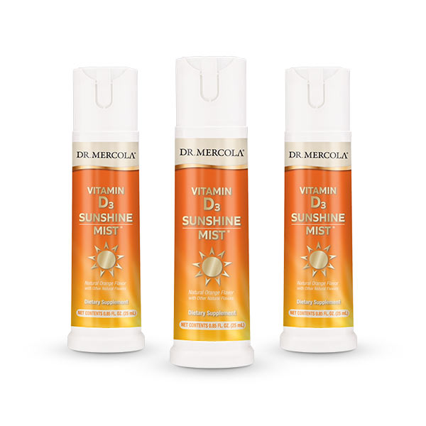 Vitamin D3 Spray 3-Pack