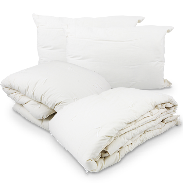Wool Bedding Complete Pack Queen