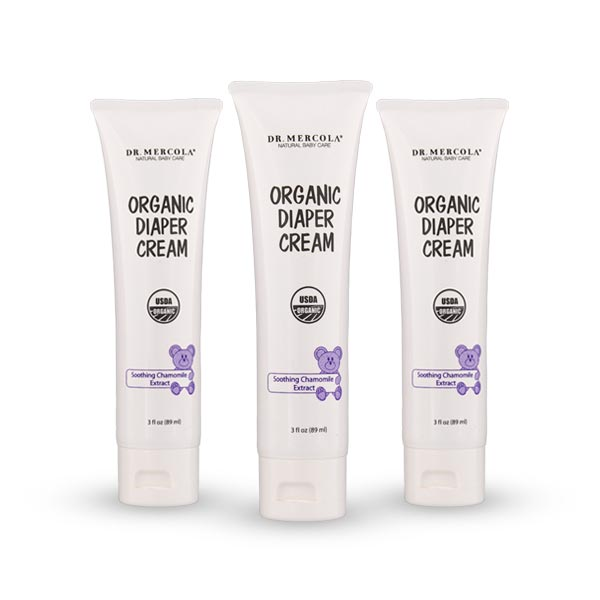 Crema Orgánica para Rozaduras para Bebé: Paquete de 3