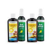 Protector Solar y Repelente de Insectos Kit (SPF 15)