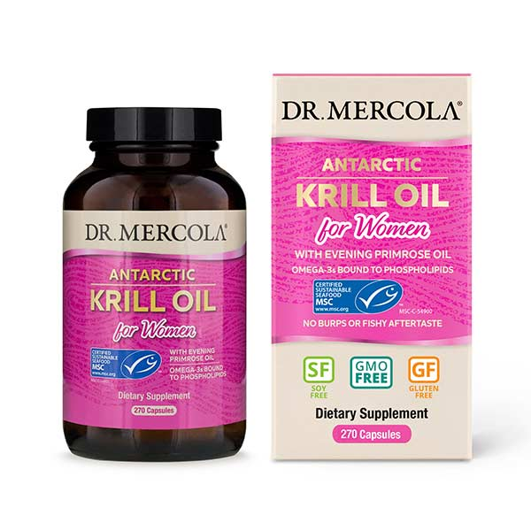 Aceite de Krill with EPO for Women