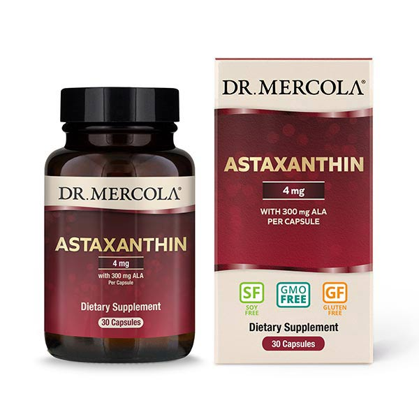 Astaxanthin (30 per bottle): 30 Day Supply