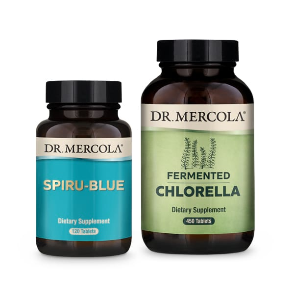 Spiru-Blue and Fermented Chlorella