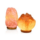 Himalayan Salt Lamp Bundle: 2 lamps