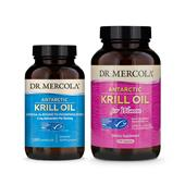 Krill Oil 2-Pack: Krill Oil (180 Capsules) & Krill Oil for Women (270 capsules)