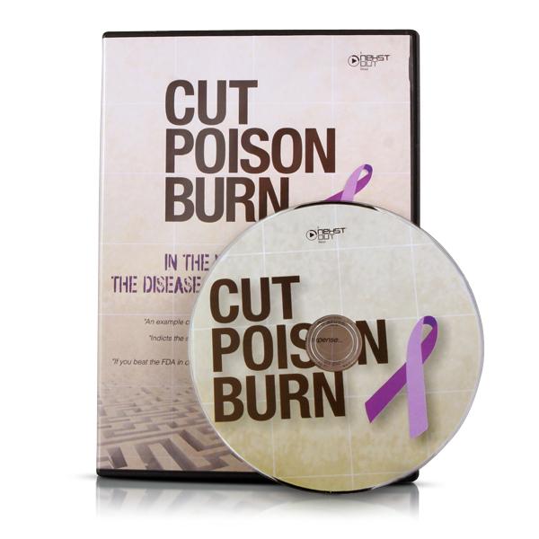 Cut Poison Burn DVD: 1 DVD