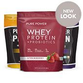 Pure Power Protein: Create Your Own 3-Pack