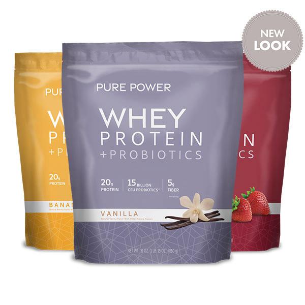 Proteina Pure Power: Crea Tu Propio Paquete de 3