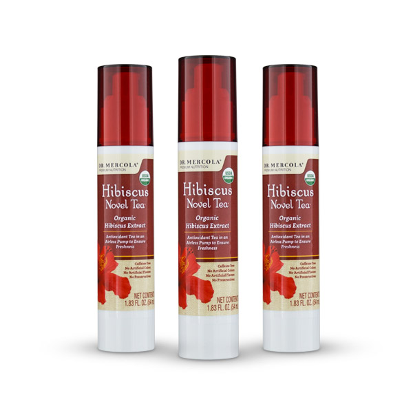 Organic Hibiscus Extract 3-Pack