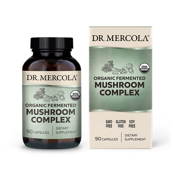Fermented Mushroom Complex (90 per bottle): 30 Day Supply