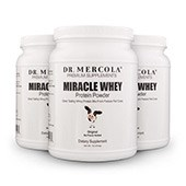 Miracle Whey Plain (11 Servings): 3-Pack