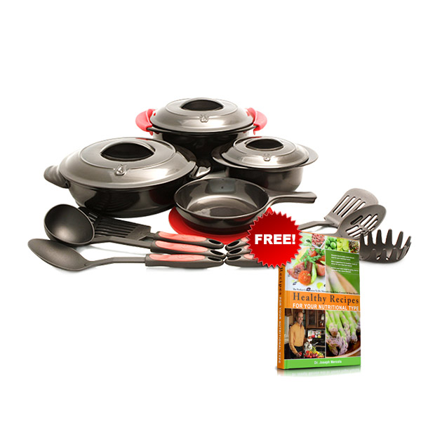 Set de 16 Utensilios para Cocinar de Mercola