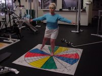 Paul Chek's Balance Training for the Elderly Figure 1