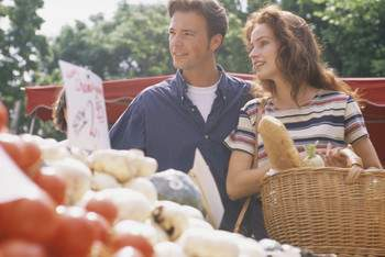 locally grown food, organic