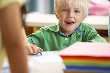 child, school, student