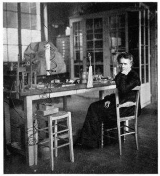 Marie Curie, scientist
