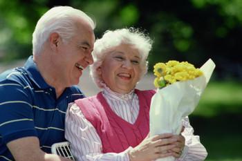 Alzheimer's, elderly, happy