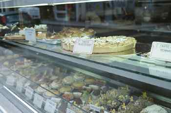 French food, pastries