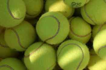 tennis, tennis balls, recycling, reusing, recycle, reuse
