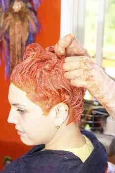 hair dye, hair color