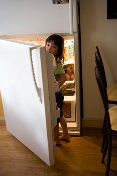 food, refrigerator
