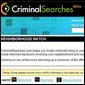 Criminal Searches