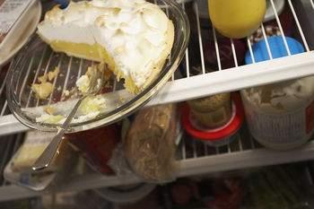 refrigerator, leftovers, food