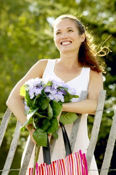 smiling, woman, vitamin D, sunlight