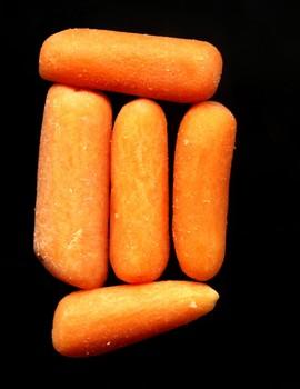 carrots, chlorine