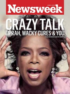 oprah, oprah winfrey, suzanne somers, cures, vaccines, hpv, bioidentical hormones, hormones