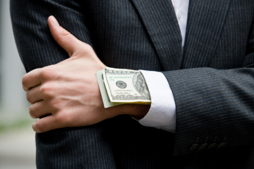 healthcare corruption greed