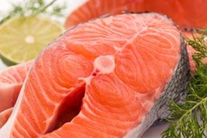 raw salmon, omega 3