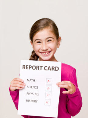 learning, school, report card