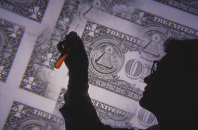 researcher, money