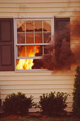 home safety hazards, fire