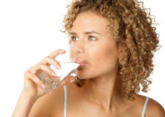 Found that obese dieters who drank two cups of water before each meal