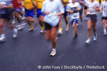 disadvantage of running marathons