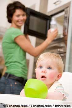 Microwaveable Baby Food