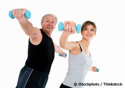 exercise lowers risk of heart attack